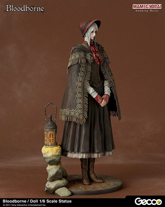 Gecco「Bloodborne ブラッドボーン/ 人形 スタチュー」が予約開始!フロム・ソフトウェア完全監修! 0705hobby-bb-IM002