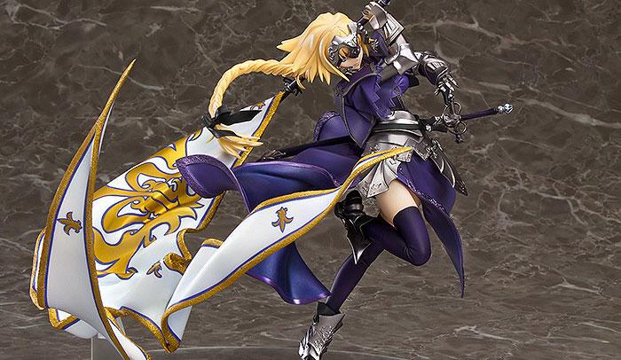 Fate/Apocrypha ジャンヌ・ダルク マックスファクトリー フィギュアが登場!超大な旗の迫力のある造形で立体化!