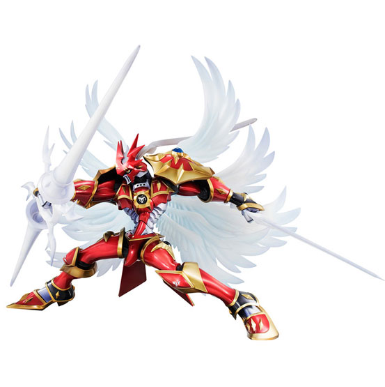 デジモンテイマーズ デュークモン:クリムゾンモード フィギュアが一部店舗限定で登場!白い翼を身に纏い、細部までこだわった鎧姿で立体化! 0728hobby-gem-IM003