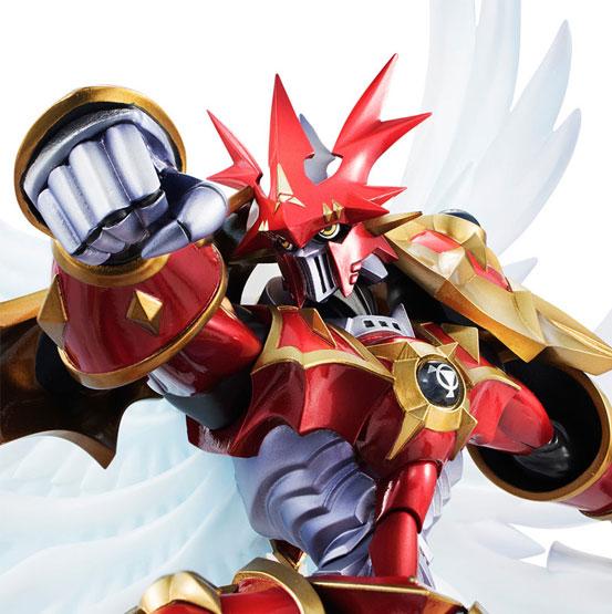 デジモンテイマーズ デュークモン:クリムゾンモード フィギュアが一部店舗限定で登場!白い翼を身に纏い、細部までこだわった鎧姿で立体化! 0728hobby-gem-IM005