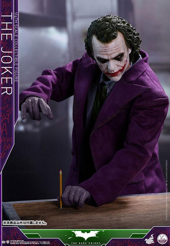 ホットトイズ「クオーター・スケール ダークナイト ジョーカー 可動フィギュア」が予約開始!ヒース・レジャー版ジョーカー! 0729hobby-joker-IM005