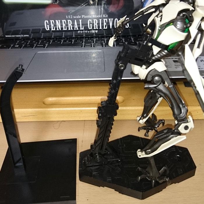 バンダイ「スター・ウォーズ 1/12 グリーヴァス将軍 プラモデル」が登場!4本腕は全て独立可動!内臓もしっかり再現! 0731hobby-gb-IM020