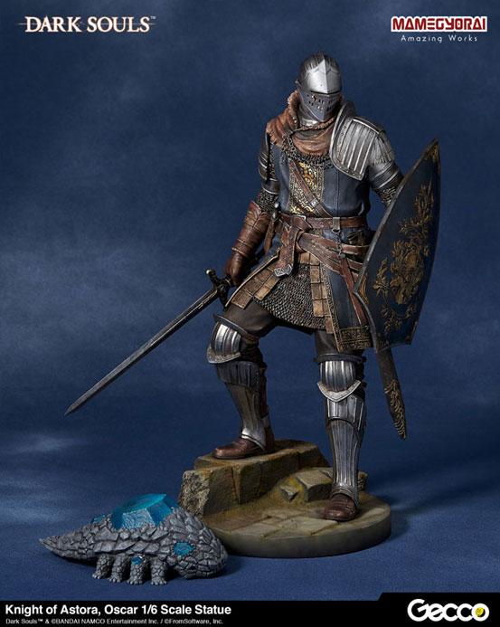 Gecco「DARK SOULS ダークソウル/ アストラの上級騎士 オスカー フィギュア」が予約開始!予約特典として「石守(結晶トカゲ)」も付属! 0825hobby-oscar-IM001