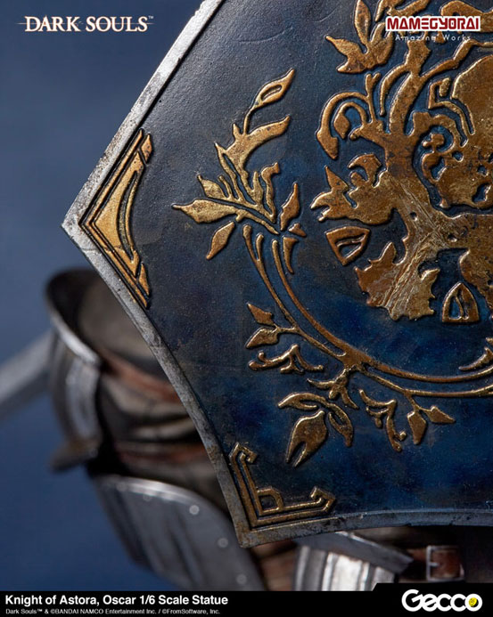 Gecco「DARK SOULS ダークソウル/ アストラの上級騎士 オスカー フィギュア」が予約開始!予約特典として「石守(結晶トカゲ)」も付属! 0825hobby-oscar-IM002