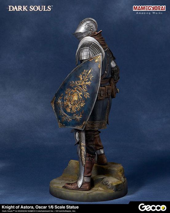 Gecco「DARK SOULS ダークソウル/ アストラの上級騎士 オスカー フィギュア」が予約開始!予約特典として「石守(結晶トカゲ)」も付属! 0825hobby-oscar-IM005