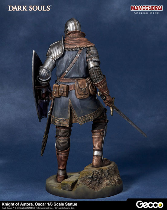 Gecco「DARK SOULS ダークソウル/ アストラの上級騎士 オスカー フィギュア」が予約開始!予約特典として「石守(結晶トカゲ)」も付属! 0825hobby-oscar-IM006