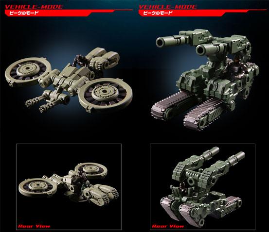 タカラトミー「ダイアクロン DA-16 パワードシステム 宇宙海兵隊兵装セット」が予約開始!3種のモードに変形可能! 0830hobby-dia-IM001