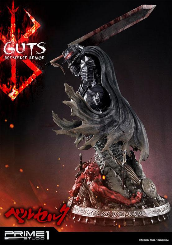 プライム1スタジオ「アルティメットプレミアムマスターライン/ ベルセルク: 狂戦士 ガッツ スタチュー」が予約開始!公式ショップ限定のEX版もあり! 0915hobby-guts-IM004