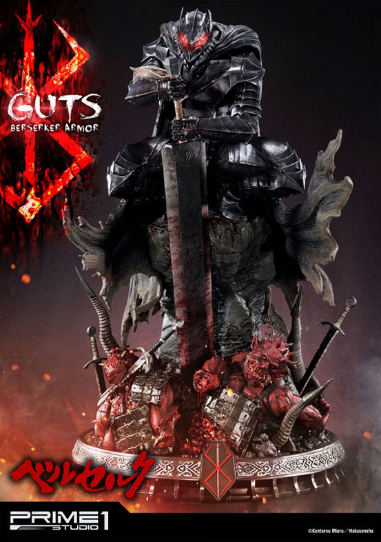 プライム1スタジオ「アルティメットプレミアムマスターライン/ ベルセルク: 狂戦士 ガッツ スタチュー」が予約開始!公式ショップ限定のEX版もあり! 0915hobby-guts-IM006