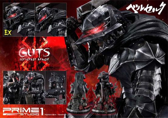 プライム1スタジオ「アルティメットプレミアムマスターライン/ ベルセルク: 狂戦士 ガッツ スタチュー」が予約開始!公式ショップ限定のEX版もあり! 0915hobby-guts-IM007