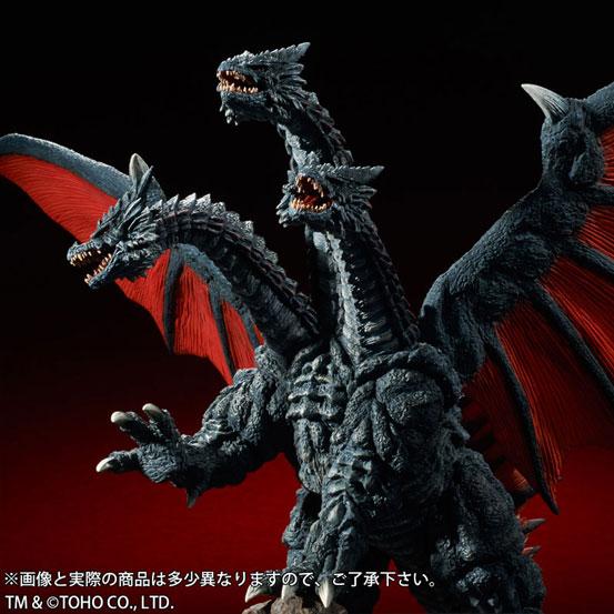 東宝大怪獣シリーズ デスギドラ ソフビ が登場!両翼の先から先まで約68cmのビックサイズ! 1111hobby-gidora-IM003
