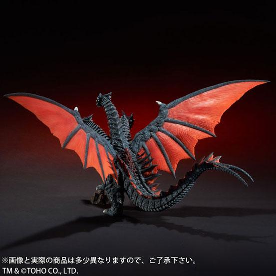 東宝大怪獣シリーズ デスギドラ ソフビ が登場!両翼の先から先まで約68cmのビックサイズ! 1111hobby-gidora-IM005