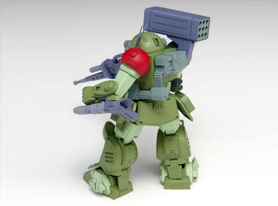 スコープドッグ レッドショルダーカスタム [PS版] 装甲騎兵ボトムズ プラモデルが登場!設定通りのコックピットを再現!降着機構も実装! 1219hobby-reds-IM002