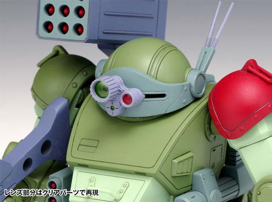 スコープドッグ レッドショルダーカスタム [PS版] 装甲騎兵ボトムズ プラモデルが登場!設定通りのコックピットを再現!降着機構も実装! 1219hobby-reds-IM004