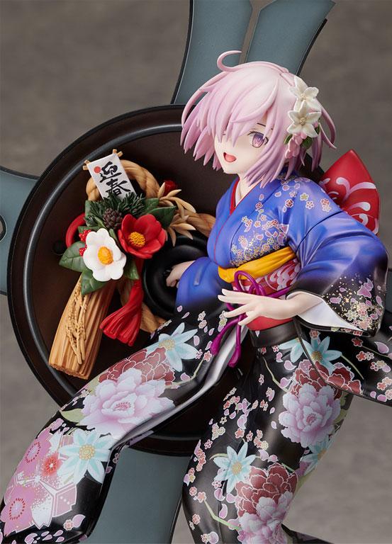 """Fate/GO グランド・ニューイヤー マシュ・キリエライト フィギュアが""""ANIPLEX+""""限定で予約開始!概念礼装のイラストを元に新年を祝うマシュを立体化! 0101hobby-fgo-mash-IM001"""