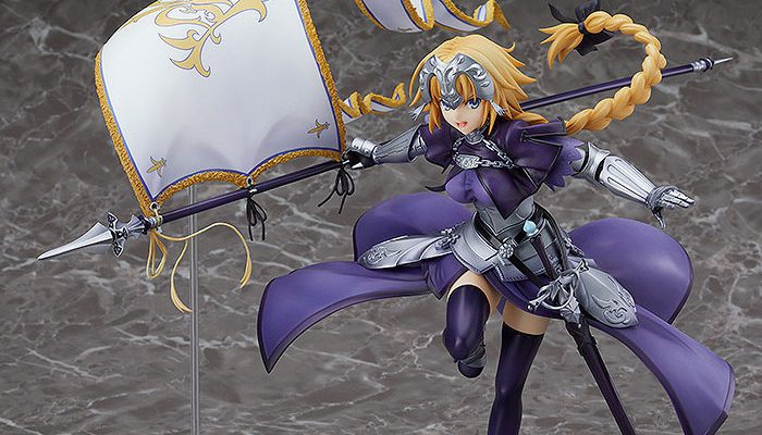 Fate/GO ルーラー/ジャンヌ・ダルク フィギュア が予約開始!手に持つ旗をはためかせながら走る、疾走感のある造形で立体化!