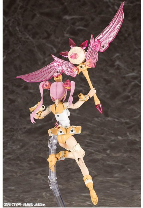 メガミデバイス Chaos & Pretty マジカルガール プラモデル が予約開始!鈍器のような杖に、肌色腕脚パーツなどが付属! 0118hobby-megami-IM002