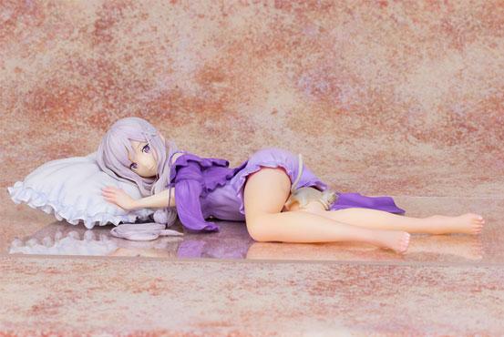 Re:ゼロから始める異世界生活 エミリア プルクラ フィギュア が予約開始!こだわりの寝間着姿で立体化! 0119hobby-rezero-IM005
