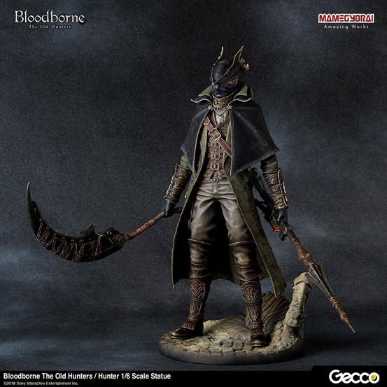 Bloodborne The Old Hunters/ 狩人 1/6 スケール スタチューが登場!DLC「オールドハンターズ」版として帰ってきた狩人! 0124hobby-bb-hunter-IM001