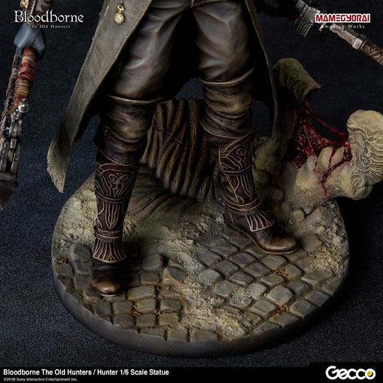 Bloodborne The Old Hunters/ 狩人 1/6 スケール スタチューが登場!DLC「オールドハンターズ」版として帰ってきた狩人! 0124hobby-bb-hunter-IM002