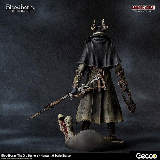Bloodborne The Old Hunters/ 狩人 1/6 スケール スタチューが登場!DLC「オールドハンターズ」版として帰ってきた狩人! 0124hobby-bb-hunter-IM006