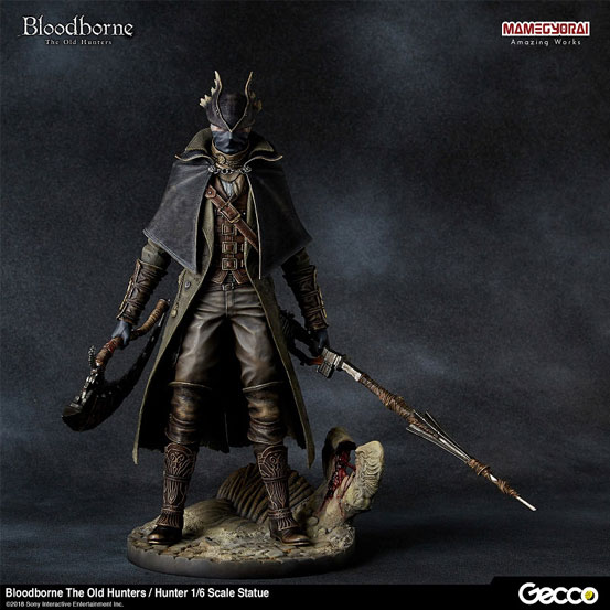 Bloodborne The Old Hunters/ 狩人 1/6 スケール スタチューが登場!DLC「オールドハンターズ」版として帰ってきた狩人! 0124hobby-bb-hunter-IM008