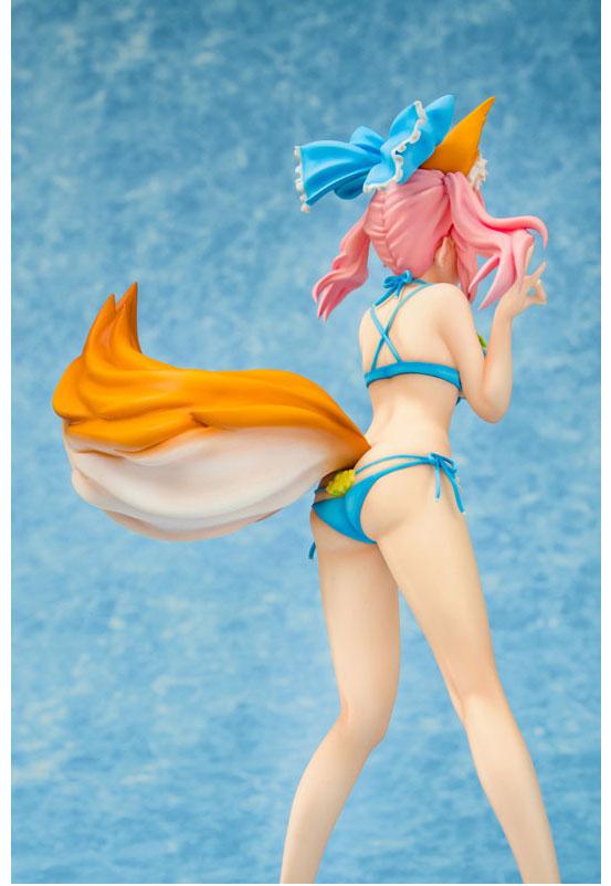 Fate/EXTELLA 1/8 玉藻の前 サマー・ヴァカンスver. フィギュアが予約開始!DLC衣装の花をあしらった可愛らしい水着姿で立体化! 0126hobby-tamamo-IM002