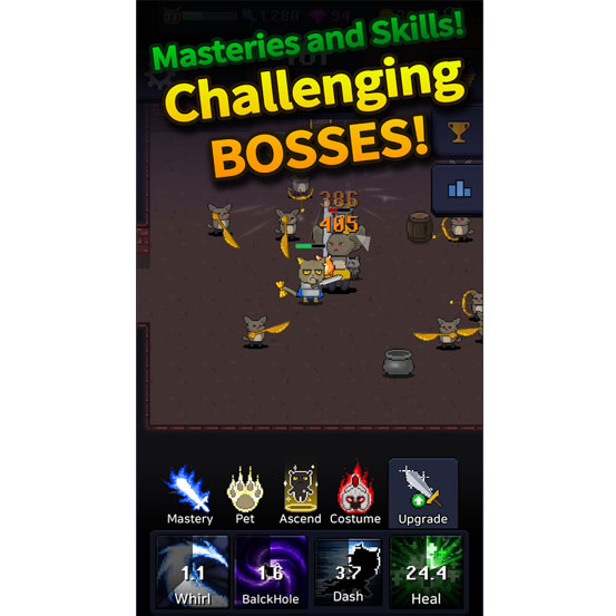 """111%による""""Idle Sword""""のような放置系RPG「Cat Tower - Idle RPG 」などが配信開始。1月27日・新作スマホゲームアプリ(無料/基本無料)情報まとめ。 0127game-new-IM001"""