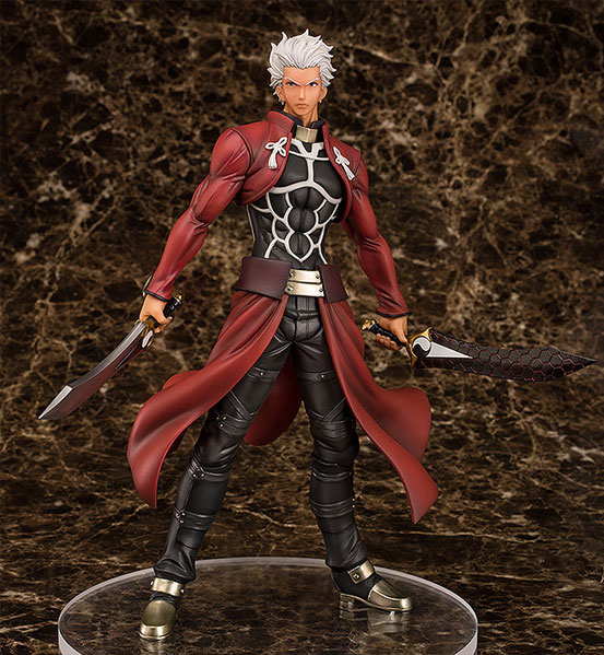 Fate/stay night アーチャー Route:Unlimited Blade Works フィギュアが予約開始!今までにないほど筋肉質かつ精悍な表情の「アーチャー」が登場! 0130hobby-emiya-IM001