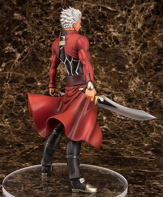 Fate/stay night アーチャー Route:Unlimited Blade Works フィギュアが予約開始!今までにないほど筋肉質かつ精悍な表情の「アーチャー」が登場! 0130hobby-emiya-IM002