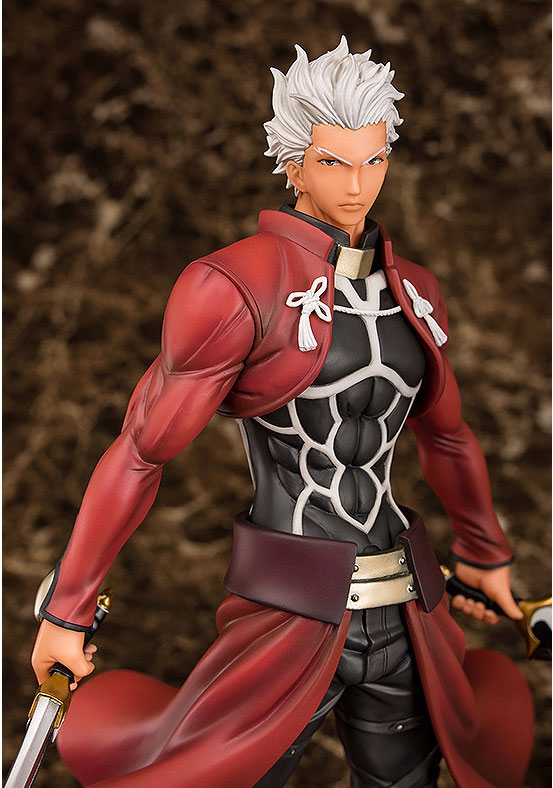 Fate/stay night アーチャー Route:Unlimited Blade Works フィギュアが予約開始!今までにないほど筋肉質かつ精悍な表情の「アーチャー」が登場! 0130hobby-emiya-IM003