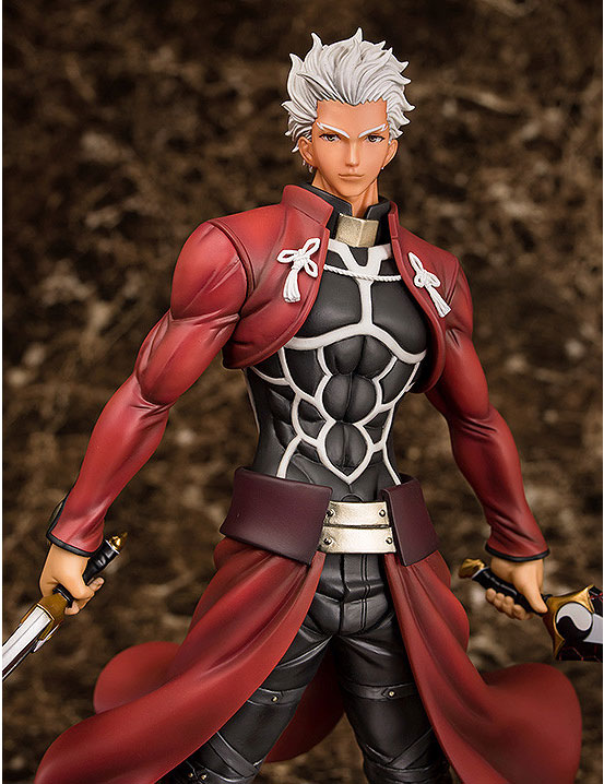 Fate/stay night アーチャー Route:Unlimited Blade Works フィギュアが予約開始!今までにないほど筋肉質かつ精悍な表情の「アーチャー」が登場! 0130hobby-emiya-IM005