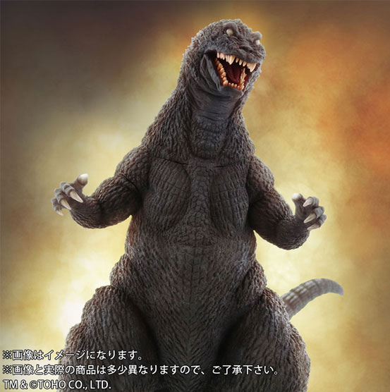 東宝大怪獣シリーズ ゴジラ(2001) ソフビ が予約開始!限定版はLEDで背びれの発光を再現! 0210hobby-gozira-IM001