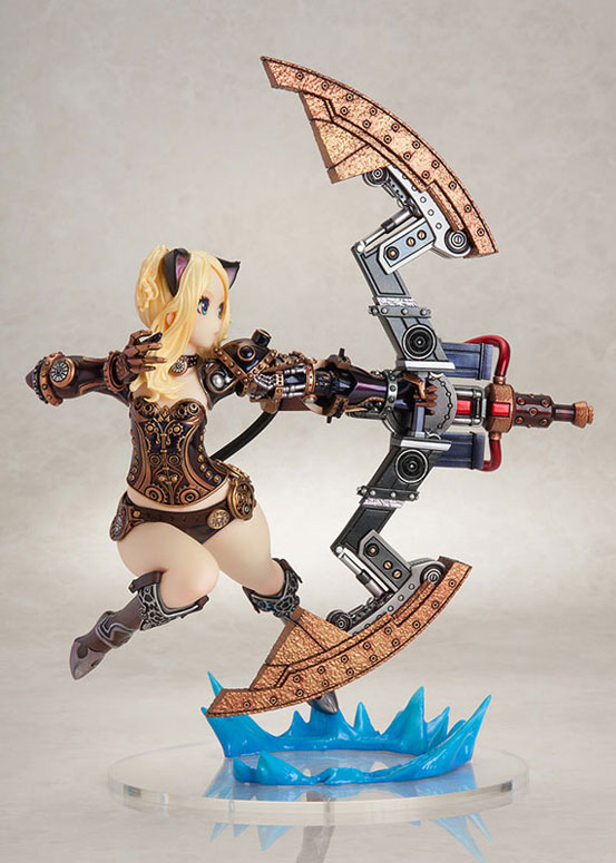 TERA エリーン スチーム・オルダン フレア フィギュア が予約開始!スチーム・オルダンの重厚な装飾の衣装と武器を忠実に再現! 0213hobby-tera-IM003