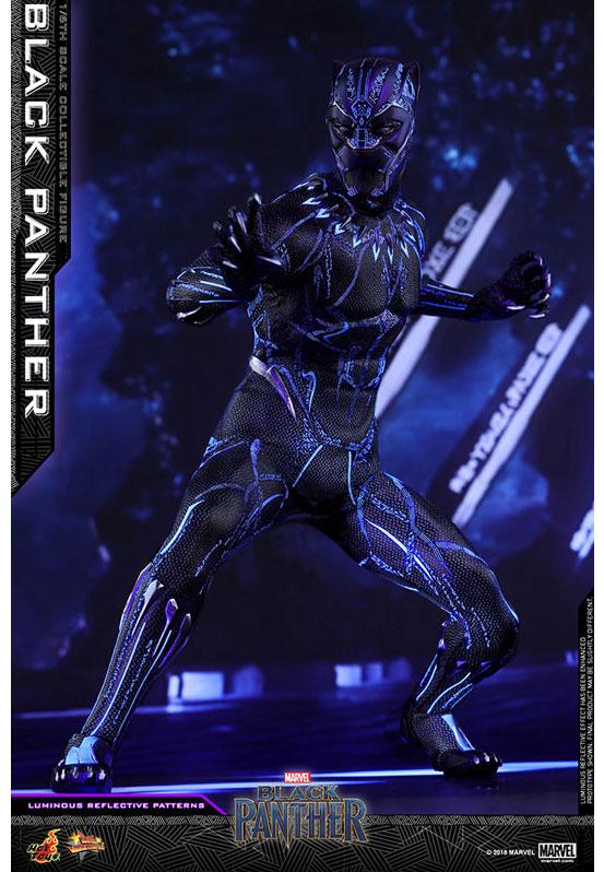 ムービー・マスターピース ブラックパンサー 『ブラックパンサー』 可動フィギュア が予約開始!LEDライトでスーツの紋様が浮かび上がる! 0214hobby-black-IM004