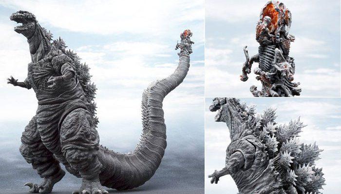 S.H.MonsterArts ゴジラ(2016)第4形態 凍結Ver. 可動フィギュア が16日16時より予約開始!尻尾の先端部を新規造形で再現!