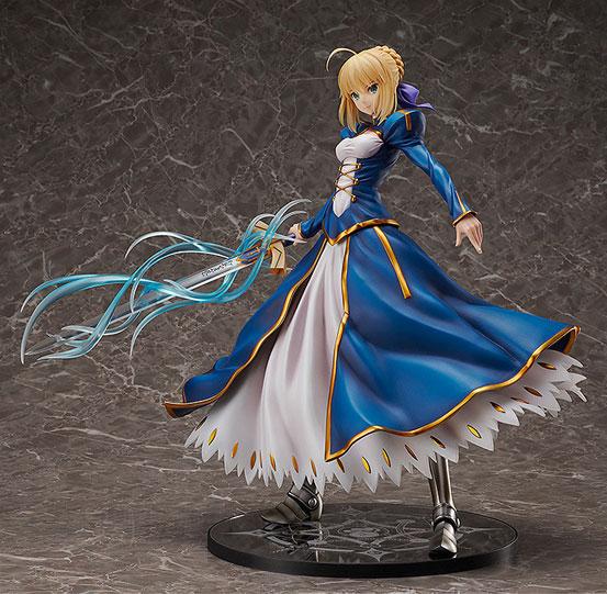 Fate/GO セイバー/アルトリア・ペンドラゴン フリーイング フィギュア が予約開始!/4スケール(全高約39cm)のビッグサイズで立体化! 0216hobby-saber-IM001