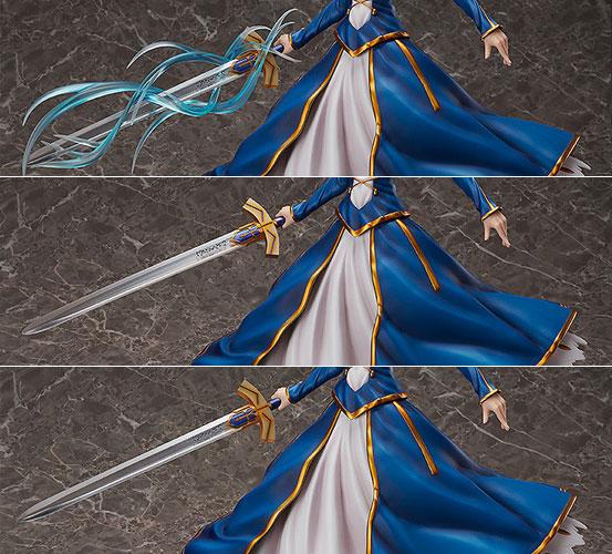 Fate/GO セイバー/アルトリア・ペンドラゴン フリーイング フィギュア が予約開始!/4スケール(全高約39cm)のビッグサイズで立体化! 0216hobby-saber-IM003