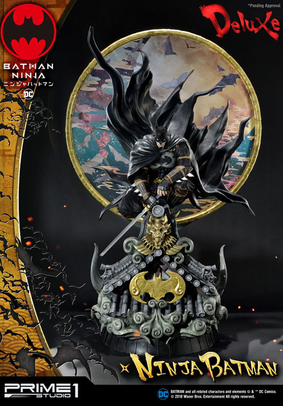 プレミアムマスターライン ニンジャバットマン 通常版/DX版 スタチュー が予約開始!コンセプトアートをモチーフに世界観を見事に再現! 0219hobby-ninja-bat-IM002