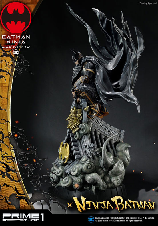 プレミアムマスターライン ニンジャバットマン 通常版/DX版 スタチュー が予約開始!コンセプトアートをモチーフに世界観を見事に再現! 0219hobby-ninja-bat-IM004