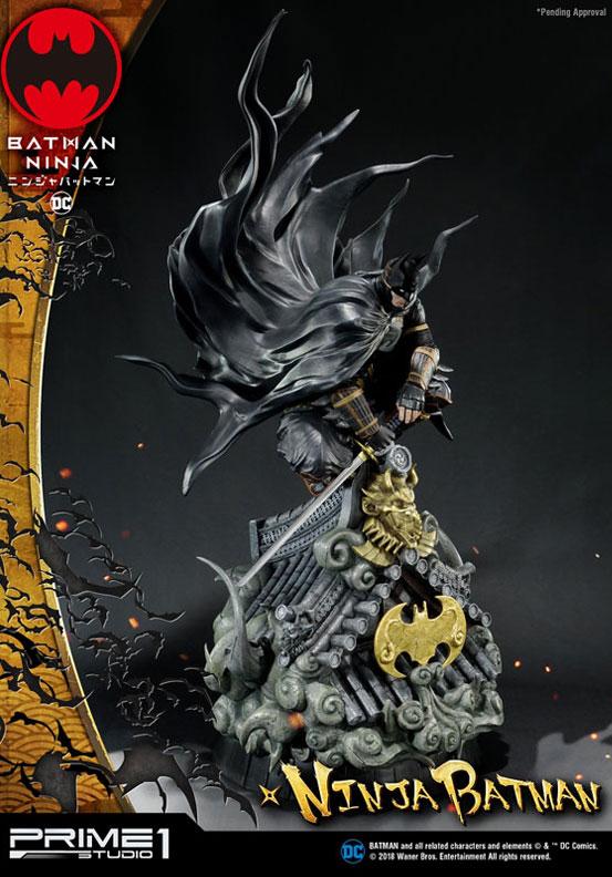 プレミアムマスターライン ニンジャバットマン 通常版/DX版 スタチュー が予約開始!コンセプトアートをモチーフに世界観を見事に再現! 0219hobby-ninja-bat-IM006