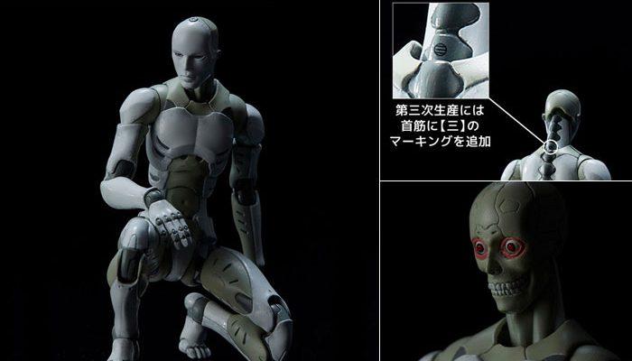 1/12 東亜重工製第三次生産 合成人間 アクションフィギュアが予約開始!首筋に「三」のマーキングを追加した第三次生産仕様!