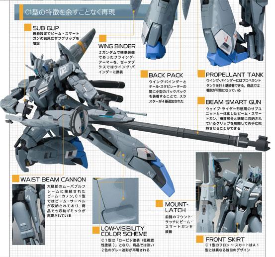 METAL ROBOT魂(Ka signature) ゼータプラス C1が予約開始!パーツ差し替えでウェイブ・ライダー形態に変形! 0227hobby-z-c1-IM003