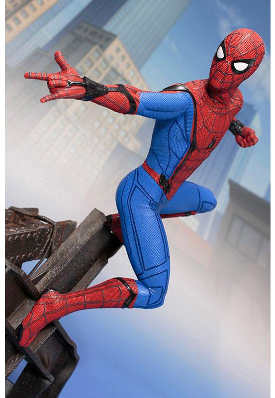 ホームカミング版スパイディ!ARTFX スパイダーマン -Homecoming- コトブキヤ フィギュアが予約開始! 0301hobby-spider-IM001
