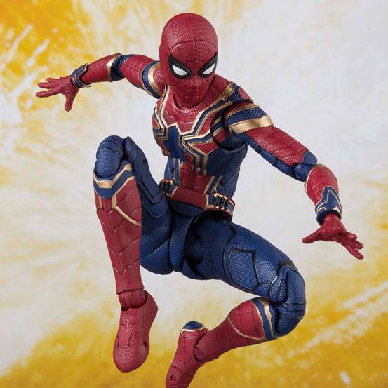 アイアンマン マーク50やアイアン・スパイダーなど、S.H.Figuarts アベンジャーズ/インフィニティ・ウォー 全9種が予約開始! 0305hobby-avengers-IM007