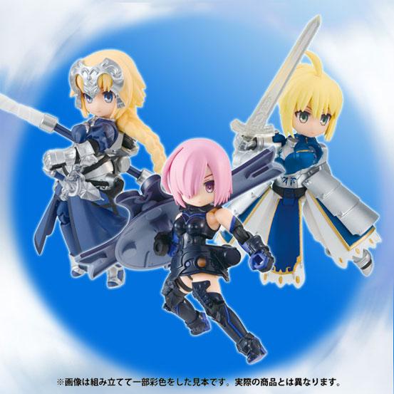 デスクトップアーミー Fate/Grand Order3個入りBOX が登場!BOX購入特典もあり! 0307hobby-fgo-da-IM007
