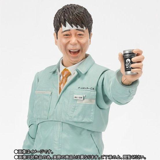 S.H.Figuarts ゲームセンターCX 有野課長(いけそう缶Ver.) 可動フィギュアがプレバン限定で予約開始! 0309hobby-arino-IM006