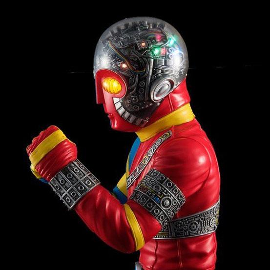 全高約40cm!ライトアップ機能搭載!Ultimate Article 人造人間キカイダー フィギュアが一部店舗限定で予約開始! 0322hobby-kikaida-IM003