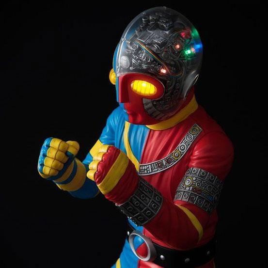 全高約40cm!ライトアップ機能搭載!Ultimate Article 人造人間キカイダー フィギュアが一部店舗限定で予約開始! 0322hobby-kikaida-IM005
