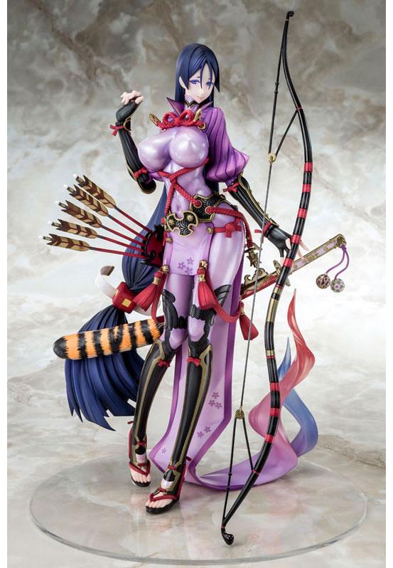 ベルファイン「Fate/GO バーサーカー/源頼光」フィギュアが登場!差し替えで第一再臨と第二再臨を再現可能! 0330hobby-raikou-IM003